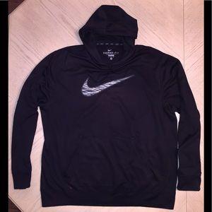 Nike Men's Black Hoodie